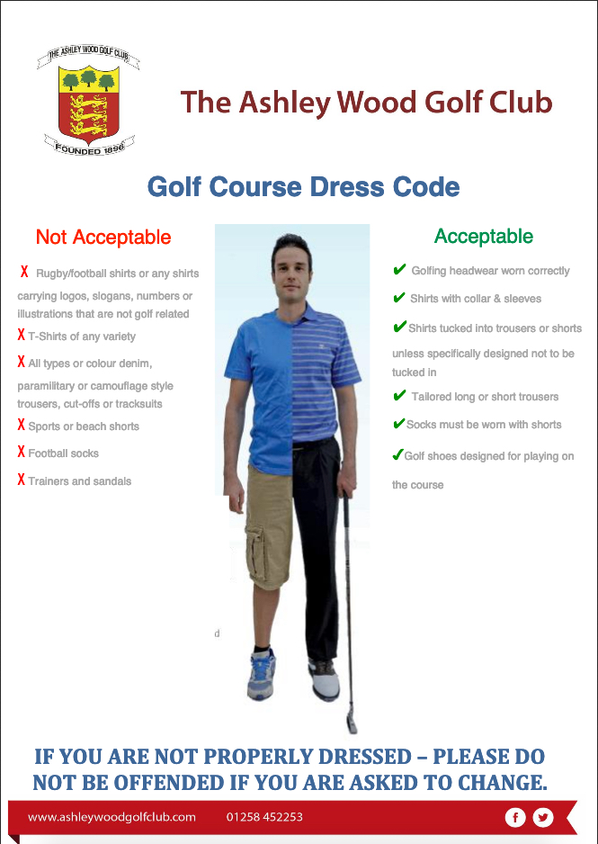 The ashley wood golf club dress code picture